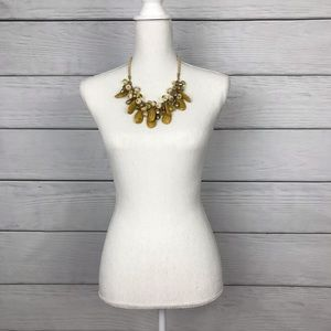 Jewelry - Chunky Yellow / Gold Necklace